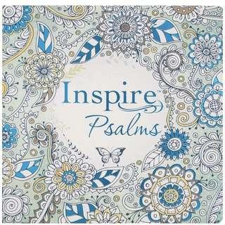 🚚 Inspire: Psalms: Coloring & Creative Journaling through the Psalms