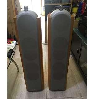KEF Reference 203 Floorstanding Speakers, Made in England (8Ohms, 200Watts, 27kg/each) Price is negotiable if do a fast deal