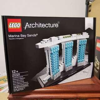 Lego 21021 - MARINA BAY SANDS. MISB. Architecture.