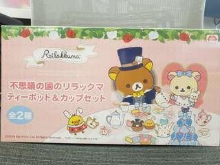 (日本直送) Toreba景品 輕鬆小熊 Teapot set