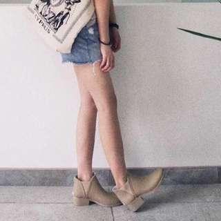 瑪姬店 啞光高跟中筒短筒防滑膠鞋雨靴雨鞋水鞋短靴RainBoots(35-39)3色入荷hkD352(包順豐)