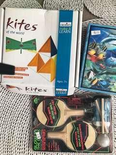 Table tennis set 3D puzzle kite kit