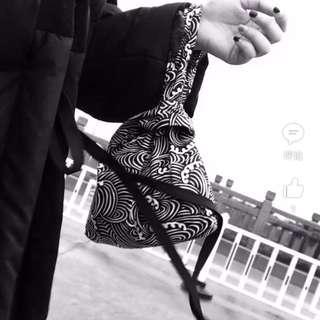🚚 日式和風手腕包/兩款(全新