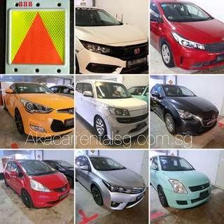 98000933 - P plate car rental