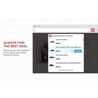 CarouPocket gets you the best deals online!