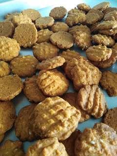 Spicy chicken floss cookies