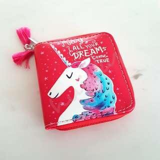 Unicorn Red Wallet Purse  #EndgameYourExcess