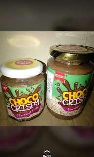 Choco jar crispy