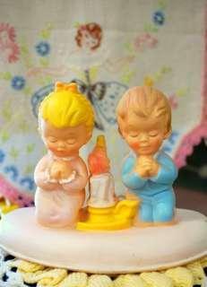 """古董""""祈禱的孩童""""小夜燈"""