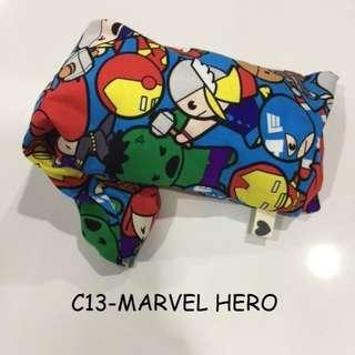 2 marvel hero designs available beansprout husk pillow and pillow case for baby newborn new born kids baby bedding items