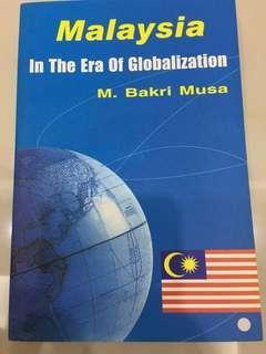 Malaysia in the era of globalisation #MMAR18