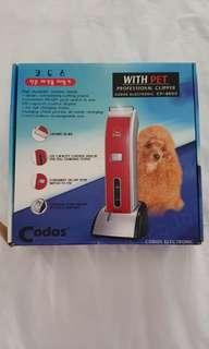 Professional Electronic Pet Clipper with Blades.