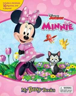 Minnie mouse pink Busy Book