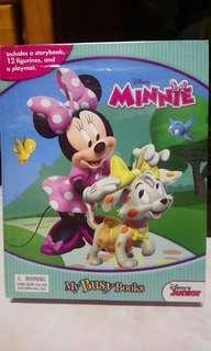Minnie Mouse blue Busy Book