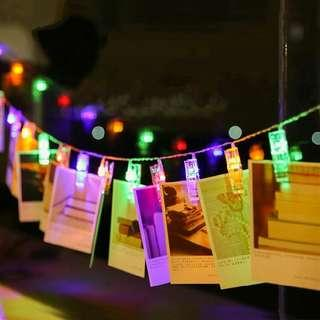 20 LED Photo Clip String Light #MMAR18
