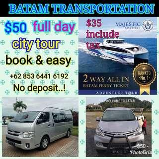Batam transportation best