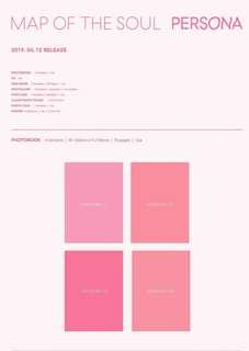 🚚 [PO] BTS MAP OF THE SOUL : PERSONA