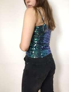 Sequin covered top