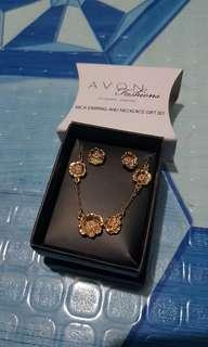 Avon Nica Earring and Necklace Gift Set