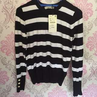 Zara sweater shirt