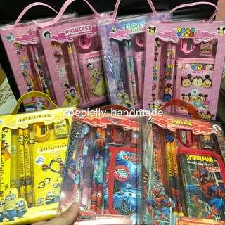 🚚 Children's Birthday Party Goodies Bag / wallet stationery set