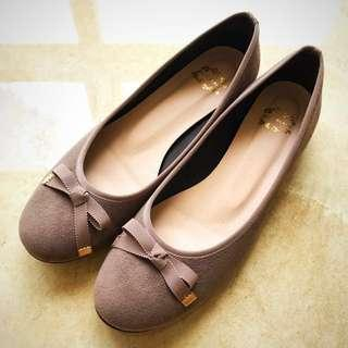 Cute Japanese Suede Flats