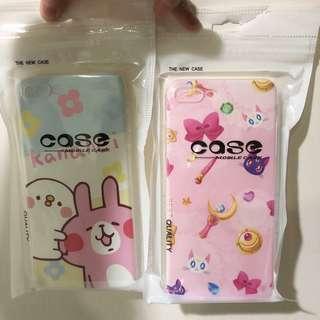 🚚 全新轉賣 美少女戰士 露娜 卡娜赫拉 兔兔 p助 iphone7/8plus 蘋果 apple 手機殼 手機保護套