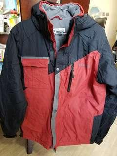 Columbia snow jacket junior 14/16 滑雪褸