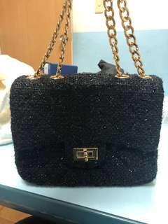 韓風金屬鍊包包