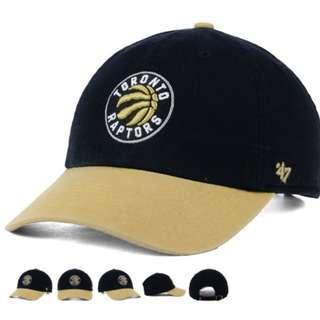 美國代購 NBA 多倫多暴龍棒球帽老帽 Toronto Raptors New Era cap 47