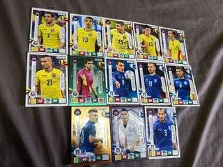 World cup 2018 Romania and Italy