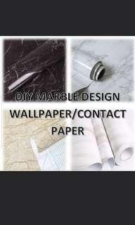🚚 DIY Marble Wallpaper