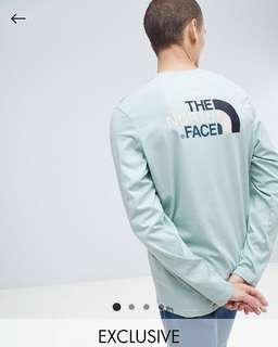 TNF Asos Exclusive Long Sleeve Easy T-Shirt