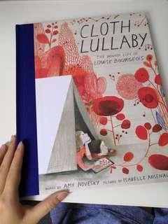 🚚 Cloth Lullaby The Woven Life of Louis Bourgeois illustrated picture book by Isabelle Arsenault