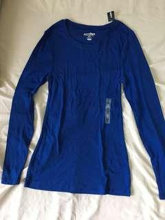 Old Navy Blue Longsleeves