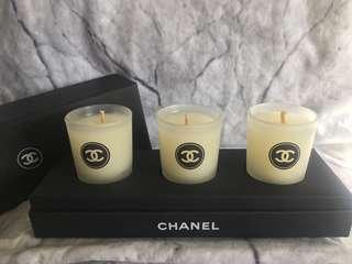 Chanel Trio Candles