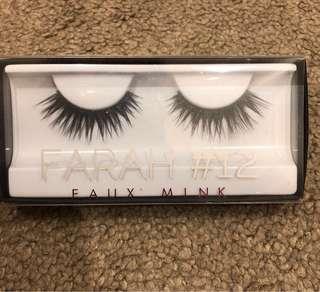 Huda beauty- Faux mink lashes (Farah #12)