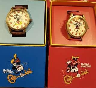 迪士尼 米奇 米妮 手錶