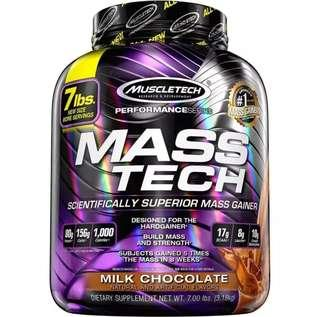 $68 New Mass Tech 7lbs Gain weight and Muscle