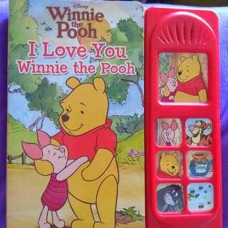 DISNEY  - I LOVE YOU WINNIE THE POOH Book
