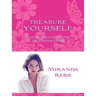 MIRANDER KERR BOOK TREASURE YOURSELF