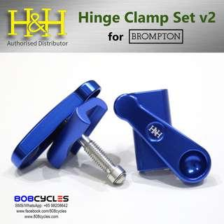 🚚 H&H Hinge Clamp Set v2 (for Bromptons)