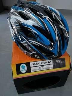DUX Helmet | Blue White | Size L