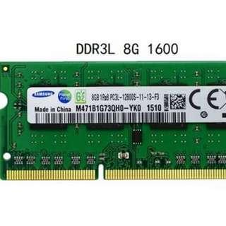 16 GB DDR3 RAM FOR MACBOOK N OTHER LAPTOP 8GB X 2