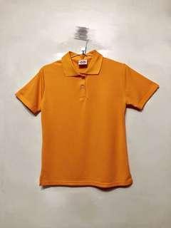 🚚 X.MAX粉橘色短袖上衣L號-不議價