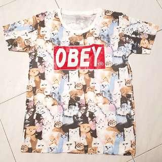 BN Cat Prints T-Shirt