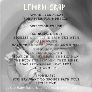 🚚 Lemon Soap
