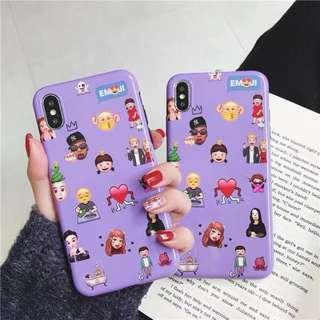 emoji iphone 6/6p/7/7p/8/8p /X/XS/Xs MAX/XR phone case