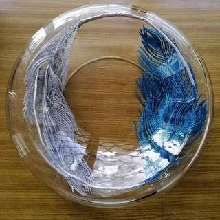 Decorative Glass Bowl Centerpiece