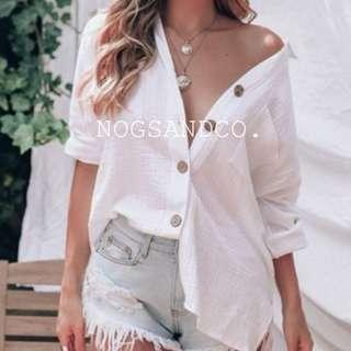 NC1536 Holiday White Shirt